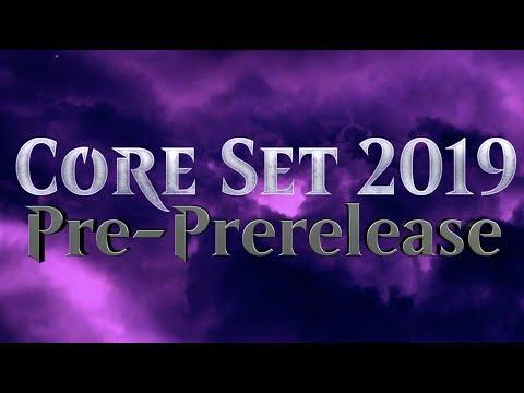 Core Set 2019 Pre-PreRelease