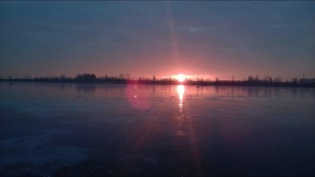 """Зимняя рыбалка в Тамбовской Области пруд """"Ярославка"""""""