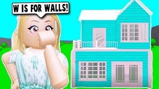 I DID THE ALPHABETICAL ORDER HOUSE CHALLENGE ON BLOXBURG! (Roblox) thumbnail