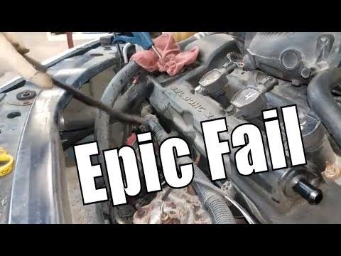 "Broken Oil Dipstick Removal ""Cool Trick"""