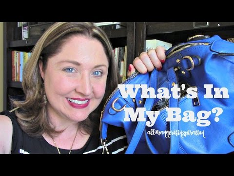 What's In My Bag? {Moda Luxe Purse}