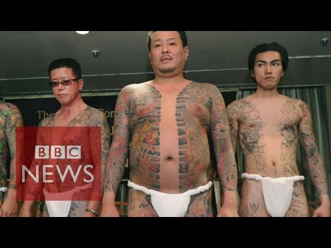 Who are Japan's Yakuza? In 60 seconds - BBC News