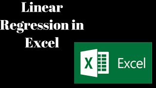 Linear Regression in Excel | Data Science | Machine Learning in Excel