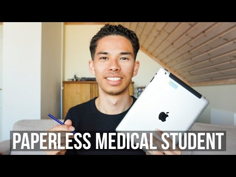 How I'm a PAPERLESS College Student | iPad, Evernote, Microsoft Onenote from YouTube · Duration:  9 minutes 40 seconds