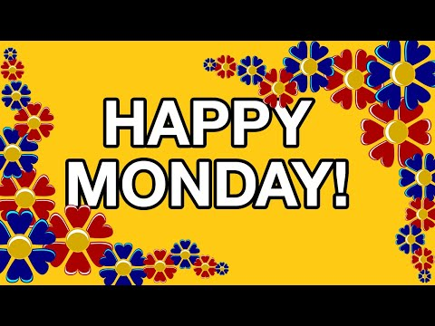 Happy monday free online greeting cards youtube m4hsunfo Image collections