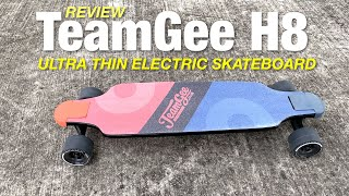 Review: Teamgee H8 Electric Skateboard