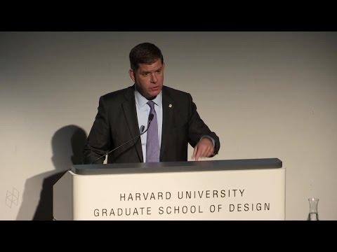 John T. Dunlop Lecture in Housing and Urbanization: Boston Mayor Martin J. Walsh