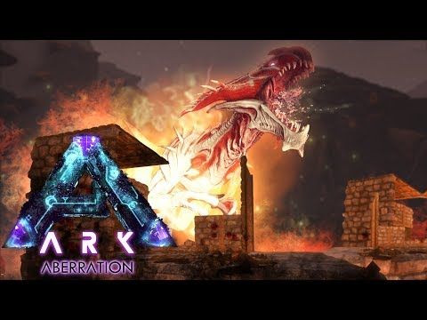 ARK Aberration - IT'S A WARNING! Surviving & Exploring The Surface, ALPHA REAPER ATTACK! - Gameplay