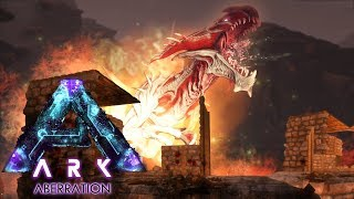 ARK Aberration - IT'S A WARNING! Surviving & Exploring The Surface,...