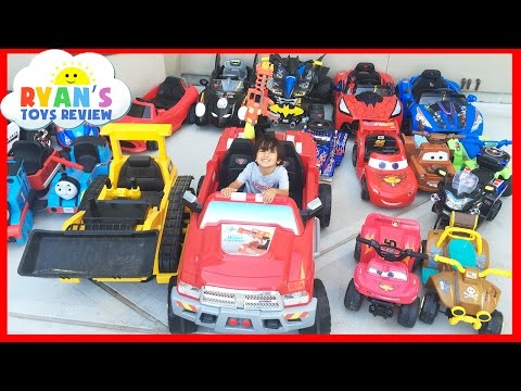HUGE POWER WHEELS COLLECTIONS Ride On Cars For Kids Compilations  Part 1