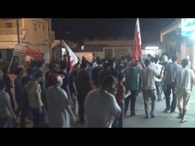 كرزكان: مسيرة زفاف الشهيد علي عباس رضي 9\11\2012