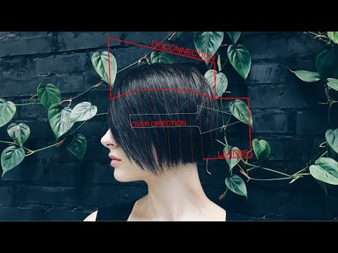 How to cut bob women's haircut
