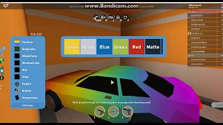 Messing with garage| Jailbreak in Roblox