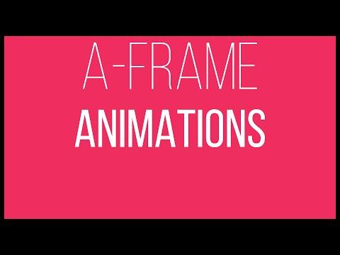A-Frame WebVR Tutorial 5 - Animations