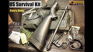 New Henry Rifle US Survival Kit