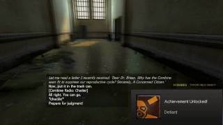 "Half-Life 2-""Defiant"" and ""Submissive"" Achievement AT THE SAME TIME!"
