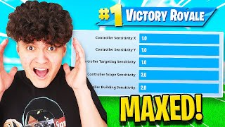Winning a Game on MAX SENSITIVITY CHALLENGE