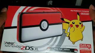 5b4f94ea5 NINTENDO New 2DS XL Pokéball Edition plus Pokémon Ultra Sun; video; video  ...