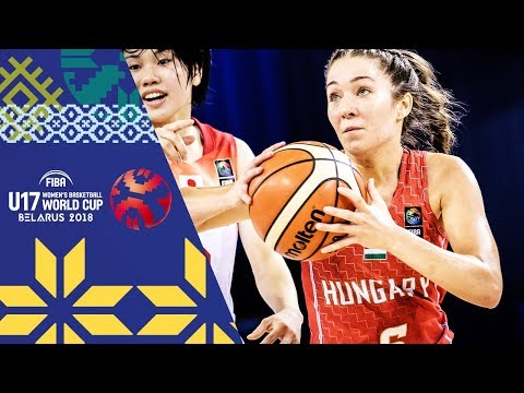 Japan v Hungary - Full Game - Quarter-Finals - FIBA U17 Women's Basketball World Cup 2018