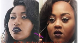 Chistmas look 2 Night Out- Inspired by Jazmine Sullivan (Mascara)