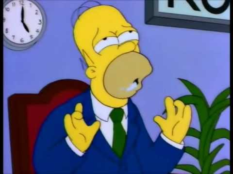 The Simpsons 'Rock bottom' segment -Season 6-