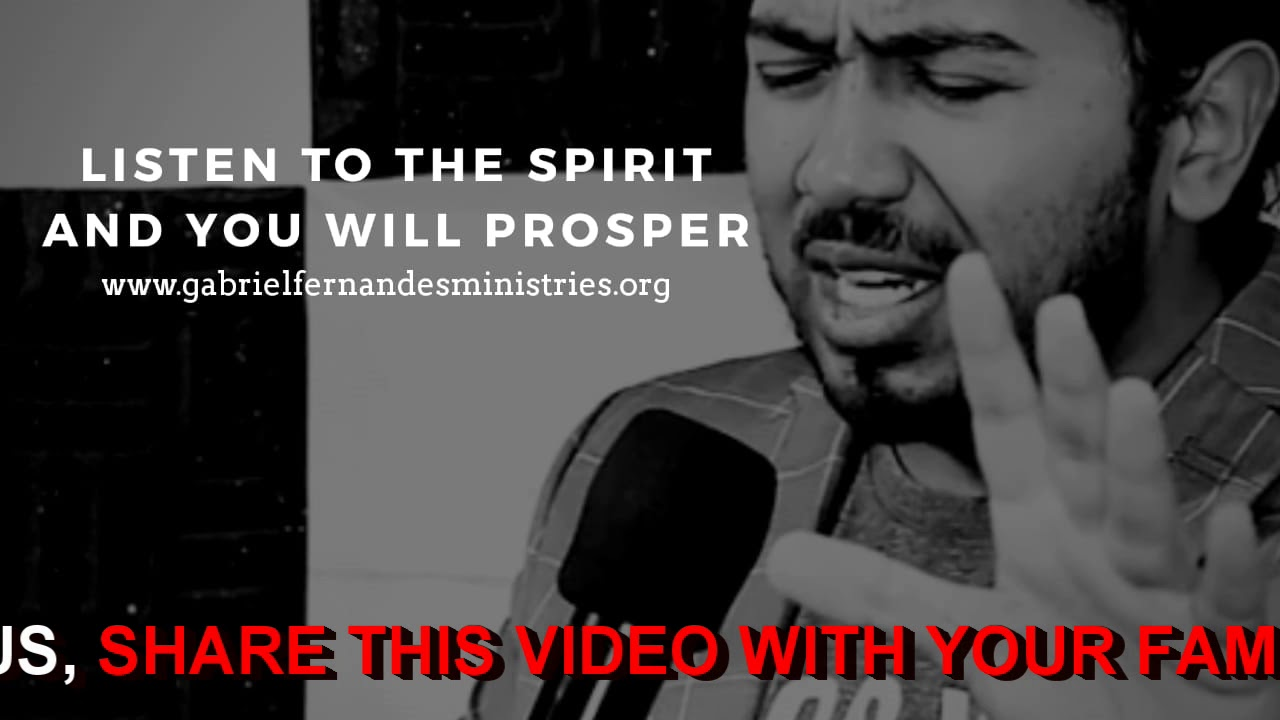 LISTEN TO THE HOLY SPIRIT AND YOU WILL PROSPER, Daily Promise and Powerful Prayer