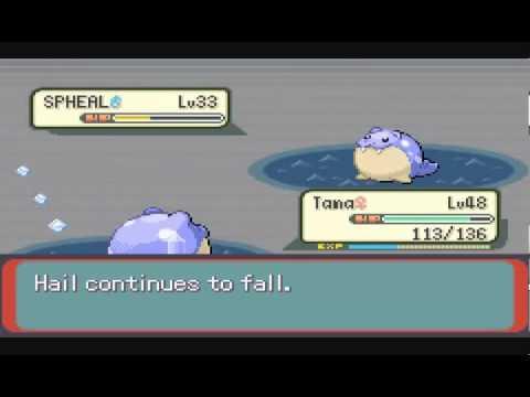 Pokémon Emerald No Evolutions - Pt 65 - Chaotic Clash!  Kyogre Vs. Groudon!