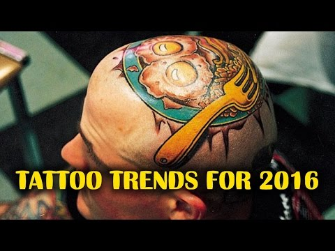 TOP 10 TATTOO TRENDS FOR 2016