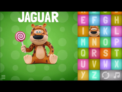 Animal ABC Song - Learning Letter Phonic - Play Alphabet game puzzle