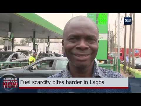 Fuel scarcity bites harder in Lagos