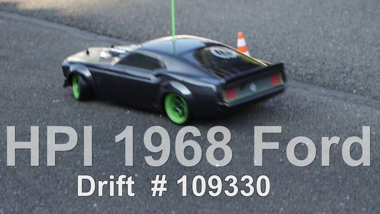 Hpi Ford Mustang Drift Rtr Sprint Sport
