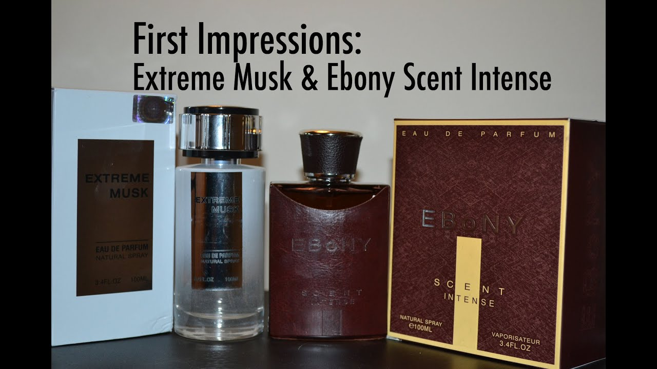 688656a8d First Impression on Extreme Musk and Ebony Scent Intense by Perfume World