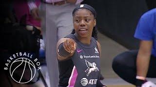 [WNBA] Atlanta Dream vs Dallas Wings, Full Game Highlights, August 25, 2019