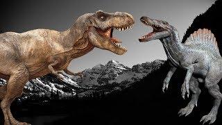 Про ДИНОЗАВРІВ!!! Тираннозаври, спинозавр, трицератопси та ін. ЗБІРКА мультфільмів