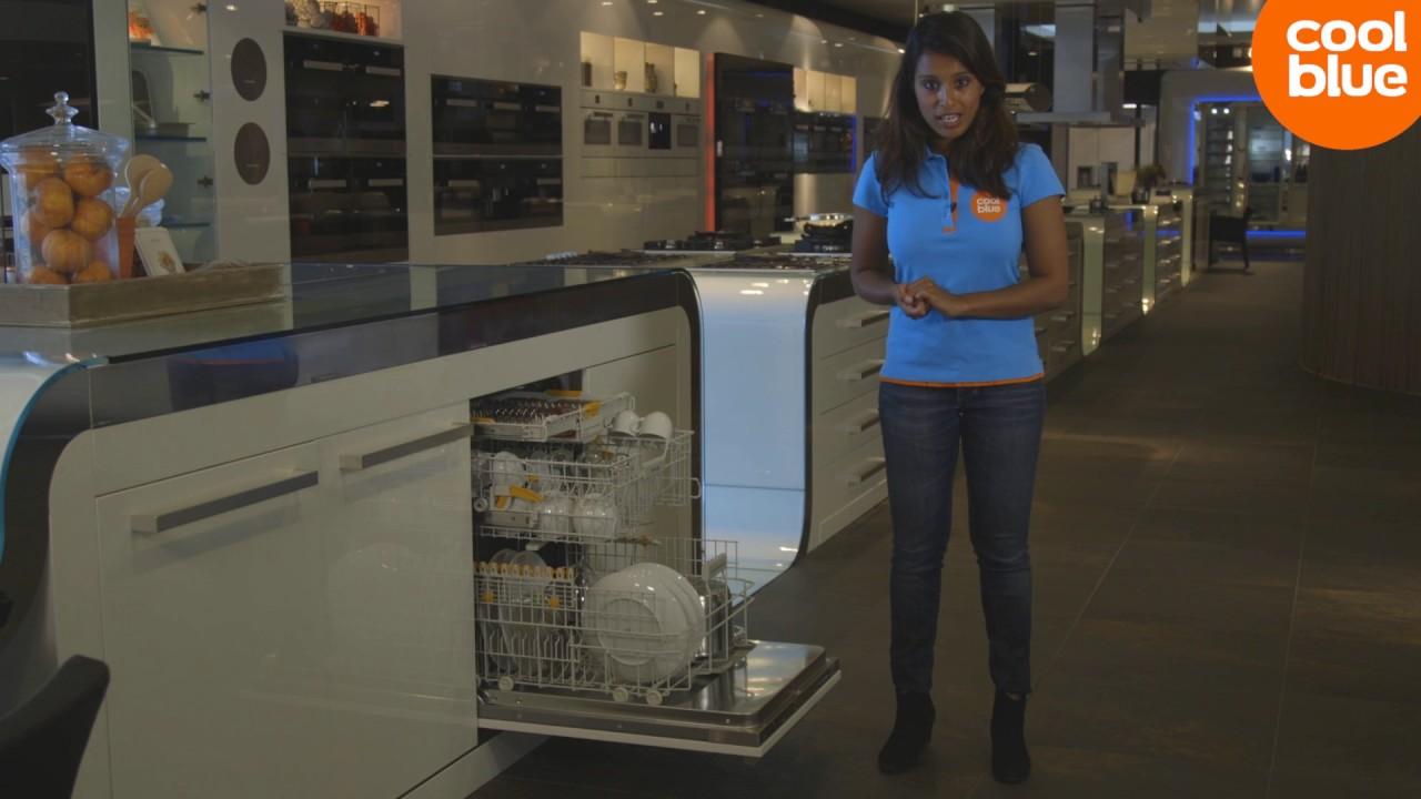 Vaatwasser Met Wifi : Miele g6660 sc vi vaatwasser review youtube