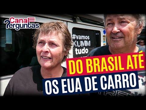 Do Brasil até os EUA de carro! ✔