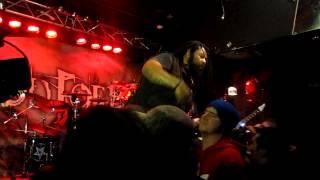 God Forbid - Scraping the Walls live at DingBatz Feb 24th 2012 (HD).MOV