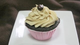 Mocha Cupcakes With Espresso Buttercream Frosting With Cookingandcrafting