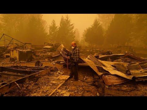 Incendios en EE. UU. dejan al menos 28 muertos en Oregon, Washington y California