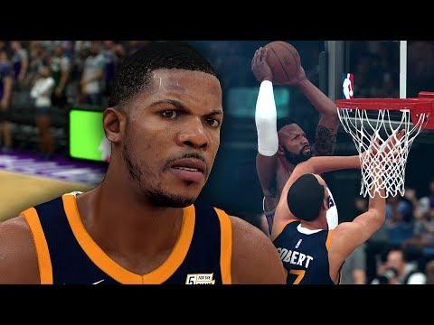NBA 2K18 My Career | Caught Rudy Gobert Slipping! Joe Johnson Contested Threes!
