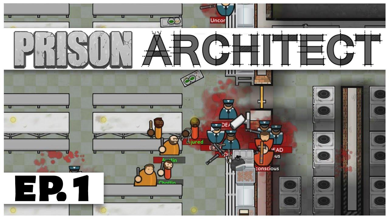 Prison architect ep 1 the great prison escape let for Jail architect