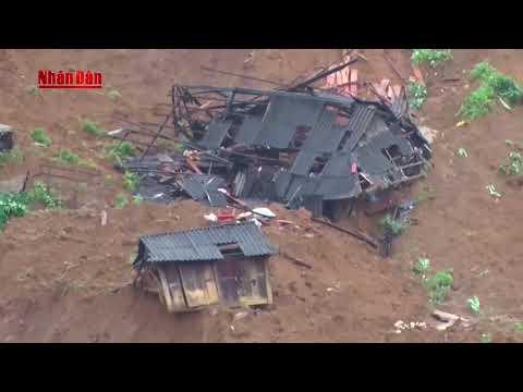 Lai Châu: Mưa lũ vùi lấp 28 ngôi nhà tại bản Sáng Tùng, huyện Sìn Hồ