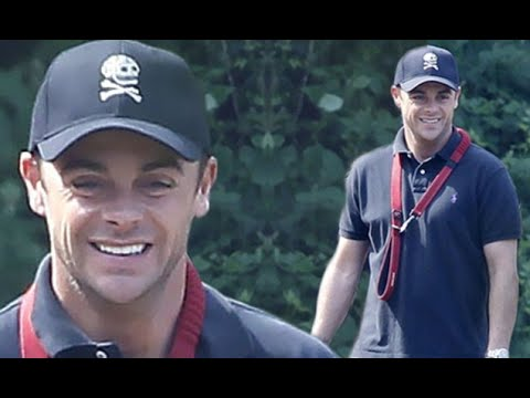 Ant McPartlin looks healthy and happy as he walks his dog in the park after rehab stint - 247 News
