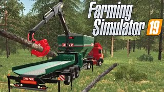 #113 - CIPPATRICE JENZ WOOD CRUSHER - FARMING SIMULATOR 19 ITA RUSTIC ACRES