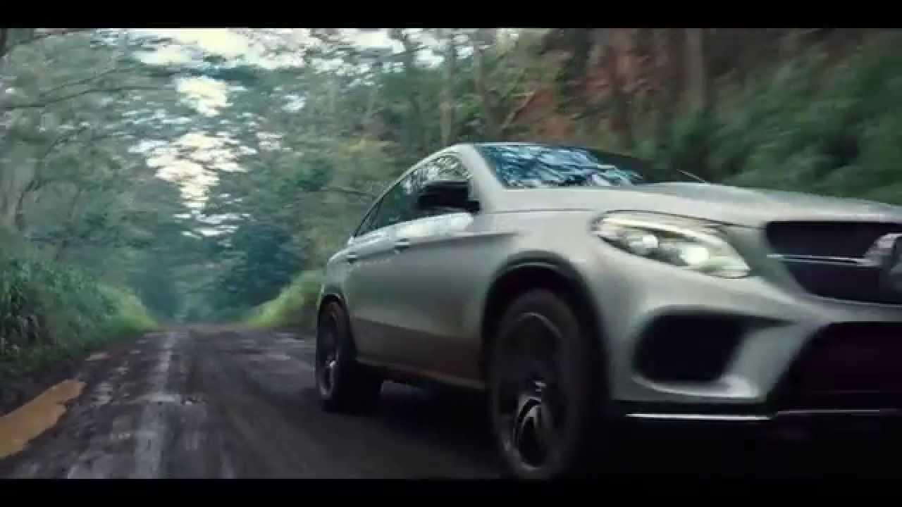 Jurassic World Trailer - Mercedes-Benz GLE Coupe - YouTube