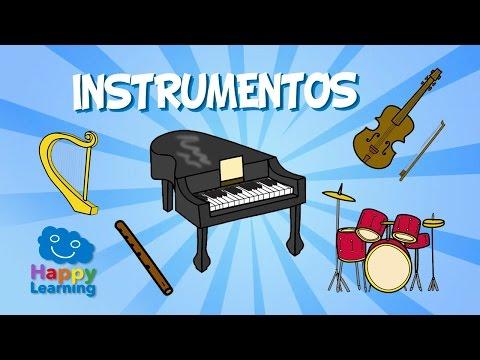 Spanish for Children. Musical Instruments | Learn Spanish