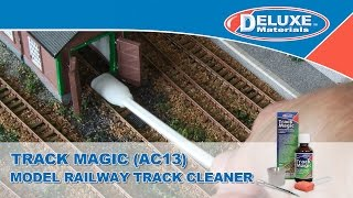 Track Magic - Track Cleaner for Model Railway