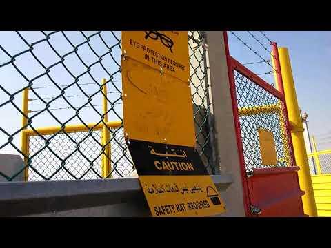 Saudi aramco gas field haradh area