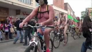 Exeter World Naked Bike Ride 2011
