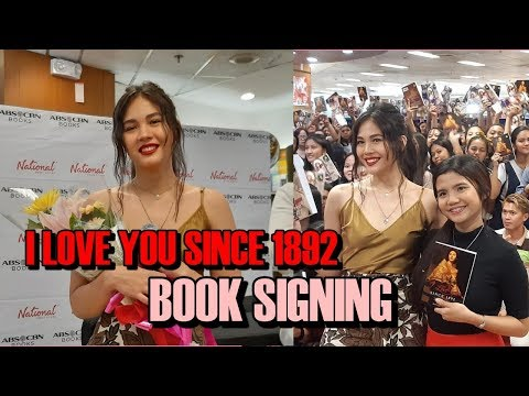 "Janella Salvador at ""I Love You Since 1892"" Book Signing 